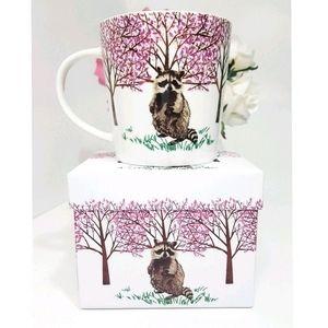 💖NEW☆Hyde Park Racoon Gift-Boxed Mug